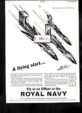 BRITAINS NEW ROYAL NAVY FLEET AIR ARM A FLYING STRAT DE HAVILLAND SEA VIXENS AD
