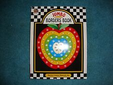 Jumbo Borders Book by Teacher Created Materials Inc. TCM#2092 Grades PreK-8th!!