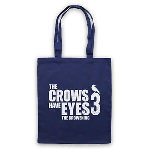 SCHITT'S CREEK THE CROWS HAVE EYES 3 THE CROWENING TOTE BAG LIFE SHOPPER
