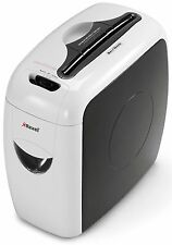 Rexel Style+ Cross Cut 7-Sheet Paper Credit Card Shredder with 12 L Pullout Bin