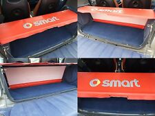 Smart ForTwo Parcel Shelf Cover and Supporting Rods for all 450 Models - Red 01