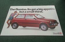1984 / 1985 DAIHATSU DOMINO 3 DOOR - UK LEAFLET BROCHURE