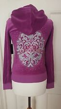 Juicy Couture Velour Tracksuit Jacket Size S BNWT