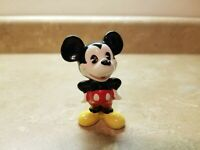 Vintage 1989 Mickey Mouse Figure From Disney World Ceramic Porcelain Made Japan
