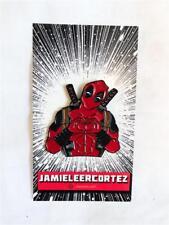 By Jamie Lee Cortez I Heart U Deadpool Pin