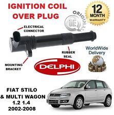 FOR FIAT STILO & MULTI WAGON 1.4 2002-2008 NEW ORGINAL IGNITION COIL OVER PLUG