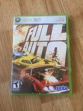 Full Auto Xbox 360 Cib Game Complete XP1