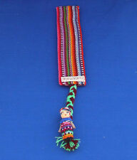 Guatemalan WORRY, TROUBLE DOLLS Bookmarker