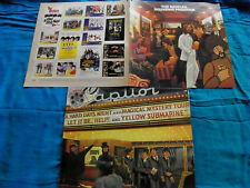 The Beatles - Reel Music - RARE Israeli Israel Made LP + Original Booklet