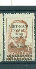 """VIETNAM 1945 -  Common Stamp Mi. 4 """"4 C"""""""