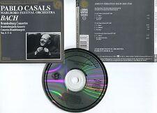 """Pablo CASALS """"Marlboro Festival Orchestra - Bach"""" (CD)"""