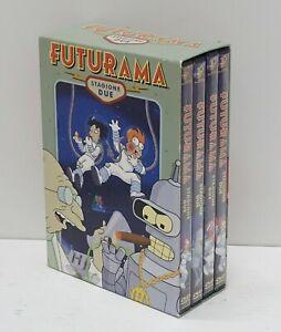FUTURAMA Stagione 2 Completa Cofanetto con n. 4 DVD in Italiano
