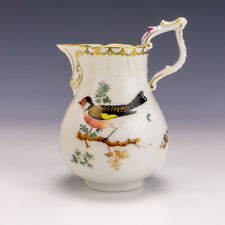 Antique Herend Porcelain - Hand Painted Bird Decorated Jug