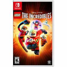 Lego Disney Pixar's The Incredibles (Nintendo Switch, 2018)