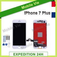ECRAN VITRE TACTILE + LCD RETINA POUR IPHONE 7 PLUS BLANC + OUTILS / FILM