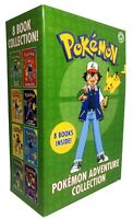 Brand New Pokemon Adventure Collection 8 Books Box Set,Race to Danger