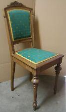 Stuhl Vintage Antik über 100 Jahre alt neu gepolstert