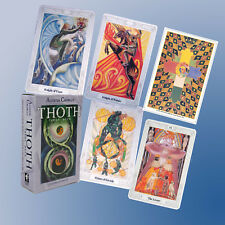 ALEISTER CROWLEY THOTH TAROT CARDS DECK + Guide Booklet FORTUNE TELLING