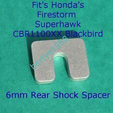 HONDA 6mm Rear Shock Spacer VTR 1000 Firestorm Superhawk,CBR 1100 XX Blackbird
