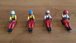 One Painted Figure Racing Driver 1/24 Scaleauto Plafit Avant Slot Car Parts