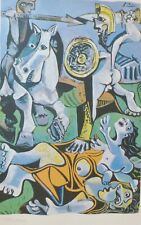 PABLO PICASSO Sabine Women signed HAND NUMBERED 1328/2000 LITHOGRAPH gouache