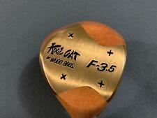 VINTAGE  WOOD BROTHERS KOOL CAT F-3.5 FAIRWAY WOOD NEW !!!