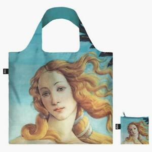 LOQI Tote Shopping, Beach Bag The Birth of Venus Modern Artist Sandro Botticelli