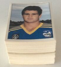 SCANLENS 1983 RUGBY LEAGUE CARDS STICKERS SET 172/172 MINT