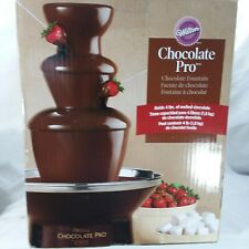 Wilton Chocolate Pro Chocolate Fountain 3 Tier Holds 4 Lbs of Melted Chocolate