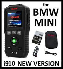 Para BMW Mini Herramienta de Diagnóstico Escáner Código Lector de ABS SRS Escáner iCarsoft BMM v1.0