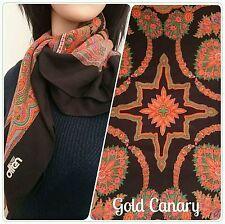 Floral 100% Cotton Vintage Scarves & Shawls