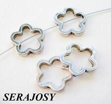 Metallperlen Metallspacer Blume 15mm 15 Stück SERAJOSY