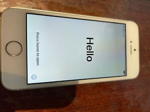 Apple iPhone SE 1st Gen - 128GB - Silver (Unlocked, AT&T) Model A1662
