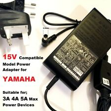 Compatible 15V 3A Adapter for Yamaha 15V 2.66A, PDX-50 PDX-30 PDX-31 TSX-140  15