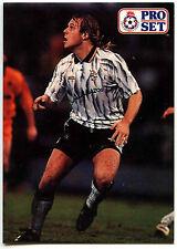 Robin van der Laan Port Vale #395 Pro Set Fútbol 1991-2 tarjeta de comercio (C364)