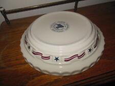 Longaberger All American Grandma Bonnie Pie Plate