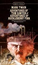 The Adventures of Tom Sawyer and the Adventures of Huckleberry Finn by Mark...