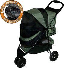 PetGear Pet Gear No Zip Stroller Buggy PushChair  3 Wheel Special Edition - NQP