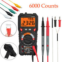 Digital Multifunctional Multimeter Tester TRMS Auto-ranging AC/DC 6000Counts NEW