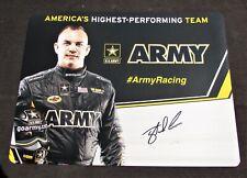 2016 Tony Schumacher Army Top Fuel NHRA Autographed HANDOUT/POSTCARD