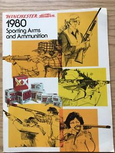 1980 Winchester Western Sporting Arms And Ammunition Catalog