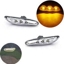 LED White Side Marker Light Turn Signal for BMW E82 E88 E60&61 E90/91/92/93 Pair