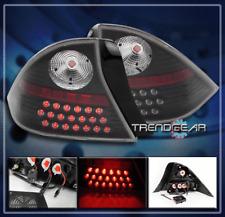 2001 2002 2003 HONDA CIVIC COUPE 2DR LED TAIL BRAKE LIGHT LAMP BLACK DX EX HX LX