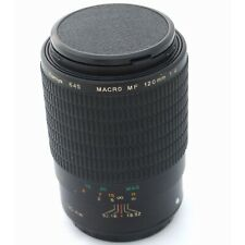 Mamiya 645AF / Phase One 120mm f4.0 macro lens, hood, exc+ condition (18348)