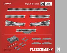 Fleischmann N 919084 Profi-Gleis DCC Digital-Gleisset Ü2 - NEU + OVP