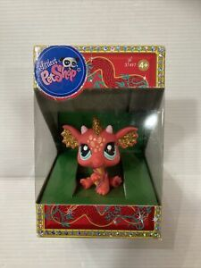 Rare Original Lps Petshop Dragon 2484 Special Chinese New Year - New