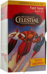 Fast Lane Black Tea by Celestial Seasonings, 1 Box