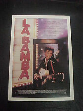 LA BAMBA, film card (Lou Diamond Phillips)