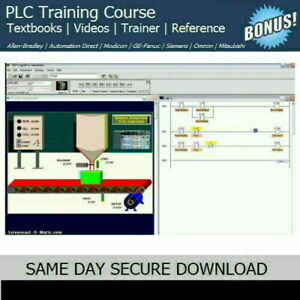 Allen Bradley PLC Training Course & SIMULATION Trainer SOFTWARE - FAST ACCESS