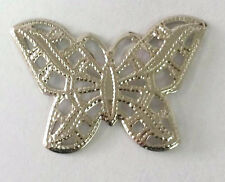 Filigree Butterfly  - 2 pc - Craft DIY Suncatcher